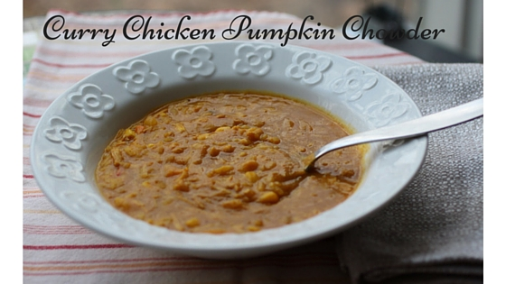 Curry Chicken Pumpkin Chowder-2