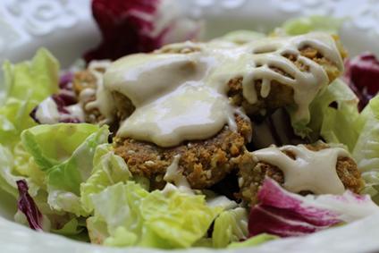 Gluten-Free Falafel Salad
